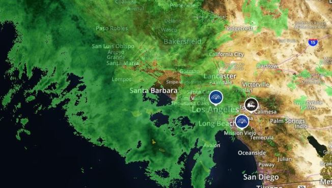 First Major Storm of the Year Sweeps Across SoCal - NBC Southern