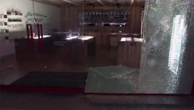 Burglars Smash Med Men Dispensary Window to Steal Marijuana and an ATM