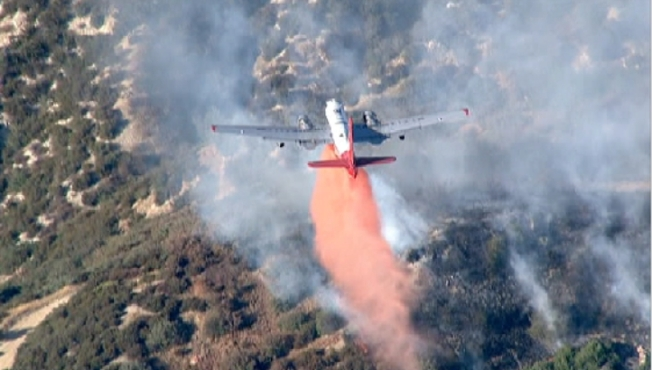 Fast-Moving Fire Prompts Evacuations in Cajon Pass