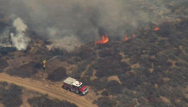 Vegetation Fire in Laguna Coast Wilderness Park Burns 65 Acres
