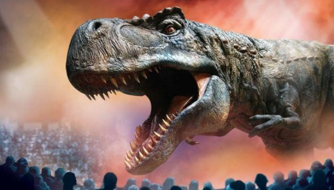 T. Rex on Tour: Walking with Dinosaurs