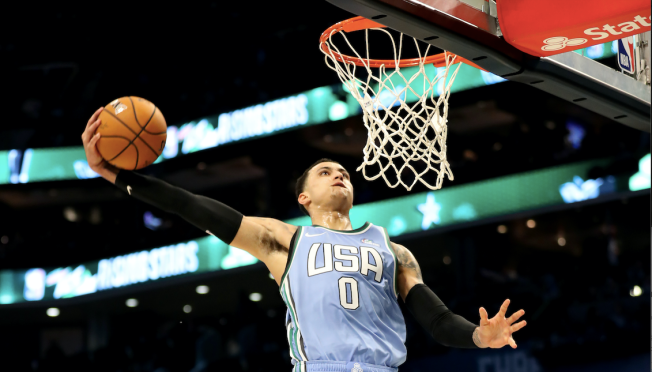 Kyle Kuzma Wins MVP in Rising Stars Game, Talks About Playing With LeBron James