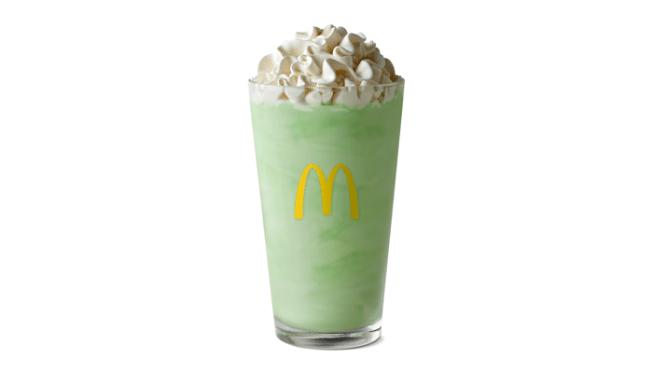 Shamrock Shake Returns to McDonald's Menu