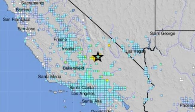 Map Of California La.Why The July 4 Earthquake Didn T Trigger A Shakealert La Early