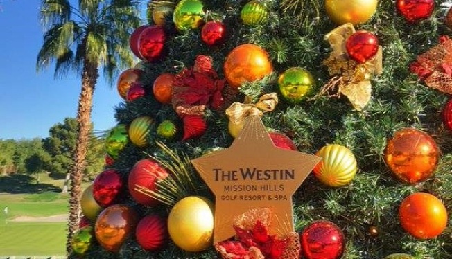Westin Mission Hills: Twelve Days of Christmas