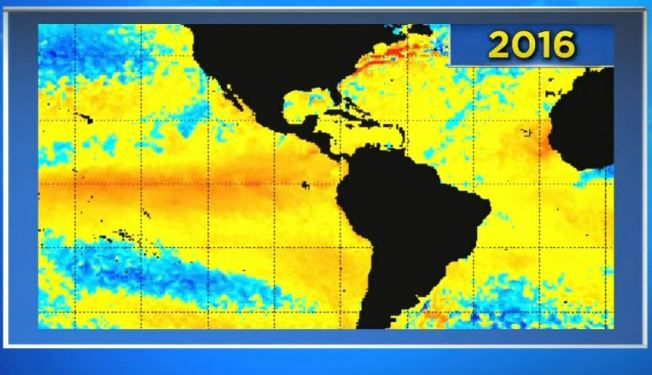 El Niño Weakens a Tad, But We Won't Feel That for Months