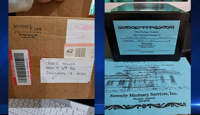 Minn. Couple Finds Calif. Woman's Ashes in Storage Unit, Searches for Loved Ones