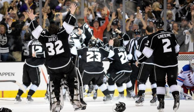 Kings Win Stanley Cup on Alec Martinez Goal