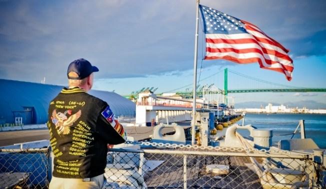 Honoring Veterans Around Southern California