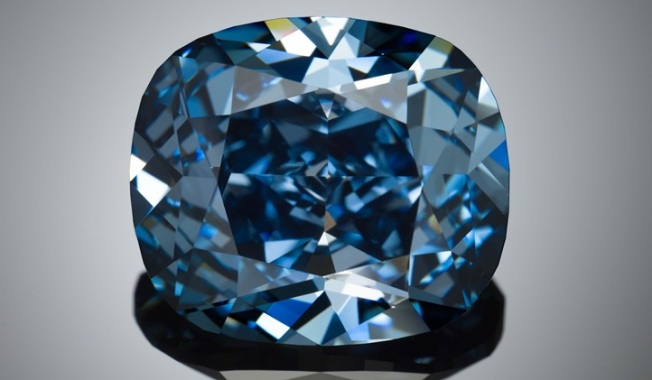 Famous Blue Moon Diamond to Go on Display in LA