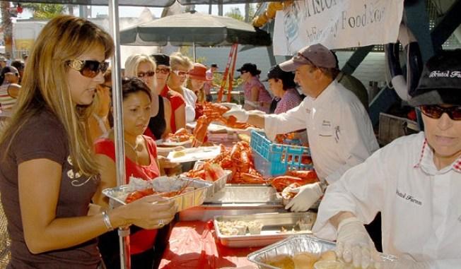 Three Weekends, Three Lobster Festivals