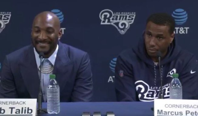 Rams Announce Aqib Talib and Marcus Peters as Newest Members of the Mob Squad
