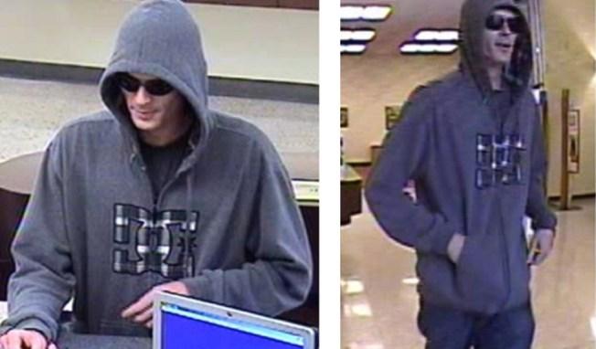 """Babyface Bandit"" Hits Bank of America Branch in Newport Beach"