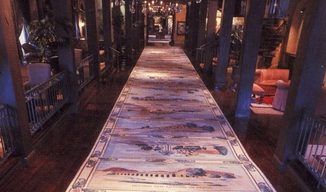 Scenic Squares: Mission Inn's Historic Carpet Up for Auction