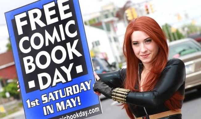 A Comic Book + You + Zero Dollars = Fist Pumps