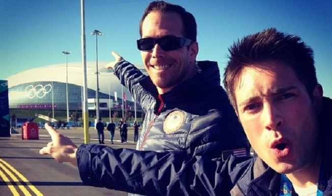 Sights & Sounds of Sochi: Whit Johnson's Busy First Weekend