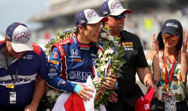 Indy 500 champ Takuma Sato still baring his soul