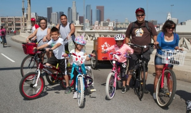 Weekend: Pedaling the Heart of LA