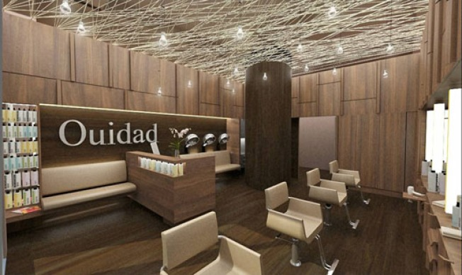 Storecasting: Rendering of Ouidad Salon on Montana