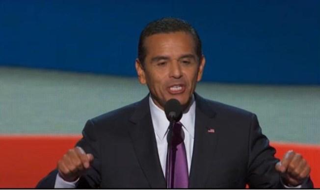 Dem Convention Builds Toward Obama Speech, Villaraigosa Addresses Crowd