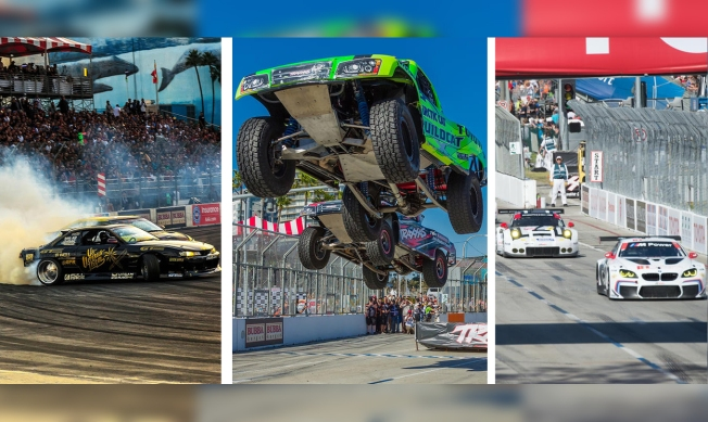 [LA GALLERY] Fast, Airborne and Sideways: What to Know About the Cars and Trucks of Long Beach Grand Prix Weekend
