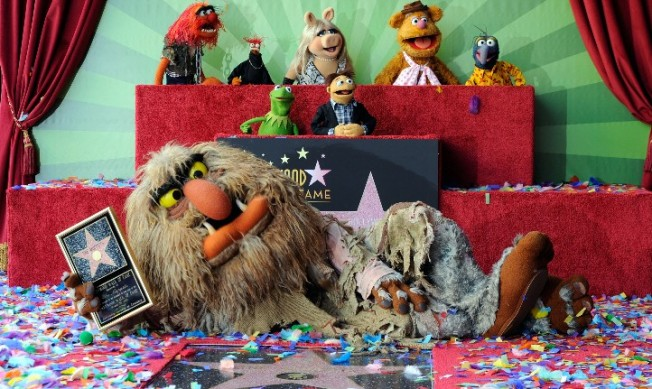 The Muppets Get Their Star on Hollywood Walk of Fame