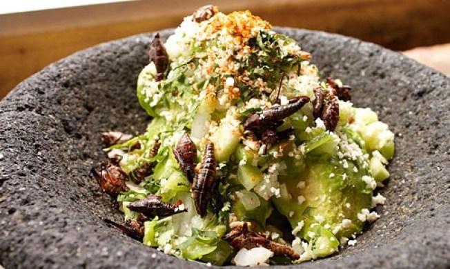 La Sandia's Grasshopper Guacamole