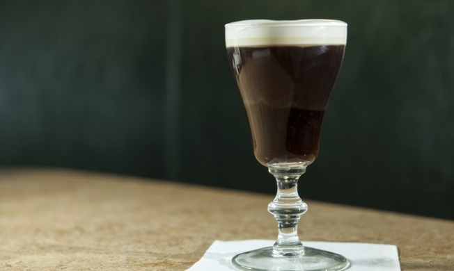 Small Glass Full of Heat: Irish Coffee Day