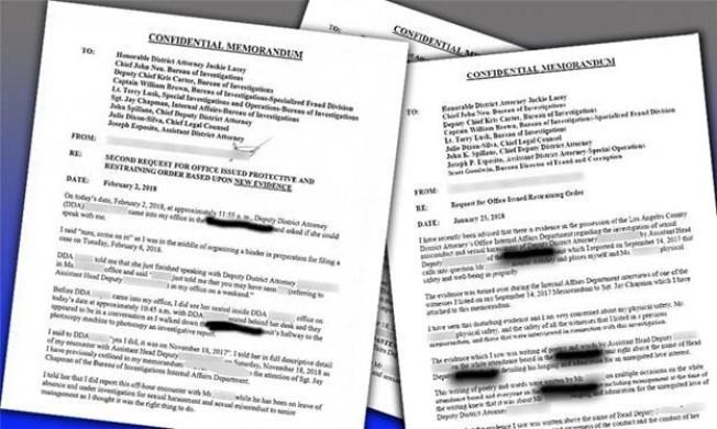 Legal memorandum sexual harassment