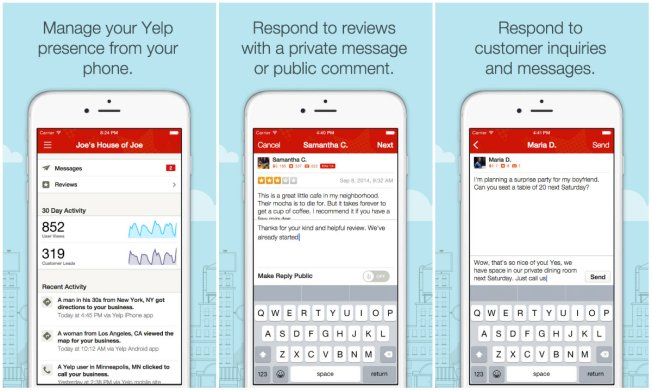 Yelp Gives Business Owners Stronger Voice