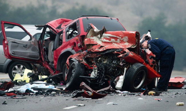 Woman Charged With Murder in Wrong-Way Crash That Killed 6