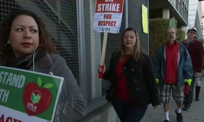 Tentative Deal Reached to End Eight-Day LA Charter School Strike