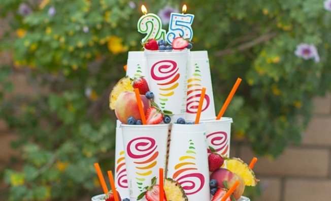 Happy 25th, Jamba Juice: Free Classic Smoothie Giveaway