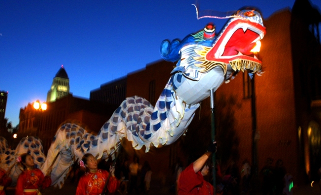 Lantern Festival Lights Up Downtown LA
