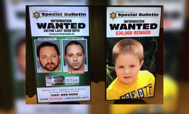 Calif. man stayed in Las Vegas after son disappeared, officials say