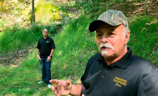 Treasure Hunters Challenge FBI Over Dig for Legendary Gold