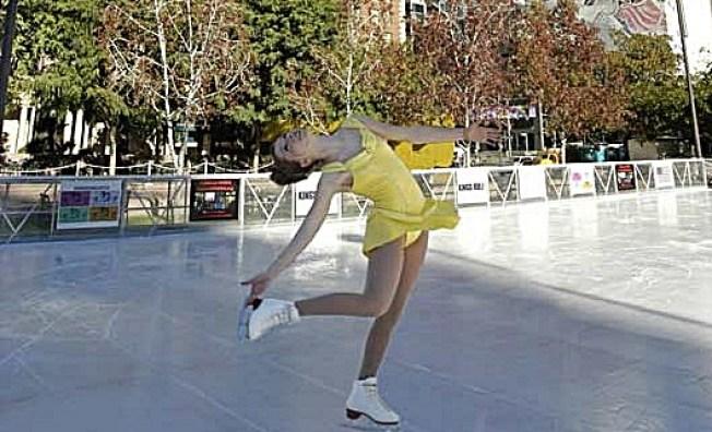 Weekend: Seasonal Ice Rinks Pirouette Away