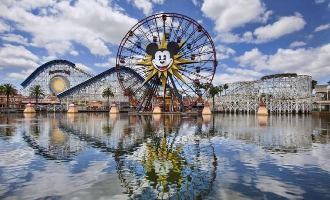 Disneyland Workers Chant for 'Living Wage' Outside Shareholder Meeting