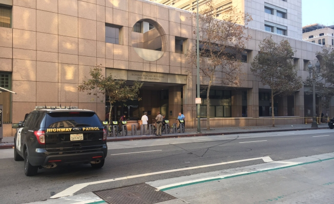 Suspect wounded in officer-involved shooting on downtown LA streets