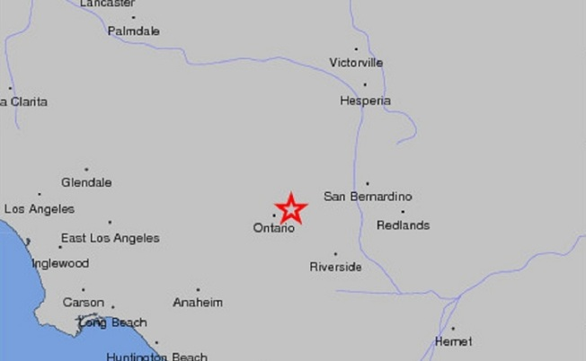 "Inland Empire Quake ""Sounded Like a Train"""