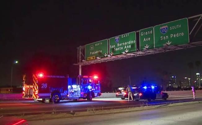 Pedestrian Killed In Crash On 10 Freeway