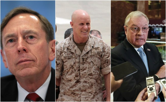 Flynn's Possible Replacements: Petraeus, Kellogg, Harward