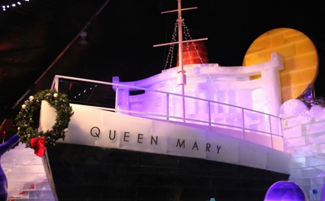 Queen Mary Christmas Starts Now