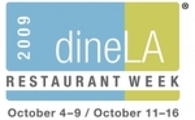 dineLA's New Fall Restaurant Week Announced
