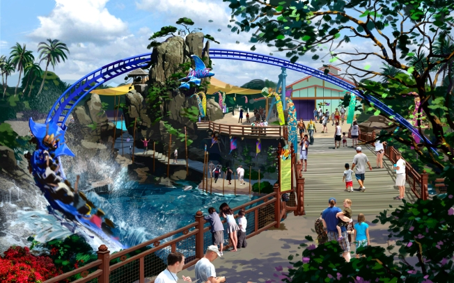 SeaWorld San Diego Opens Manta Roller Coaster
