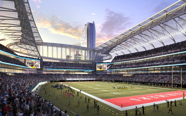 "Proposed Los Angeles Football Stadium to Be Named ""Farmers Field"""
