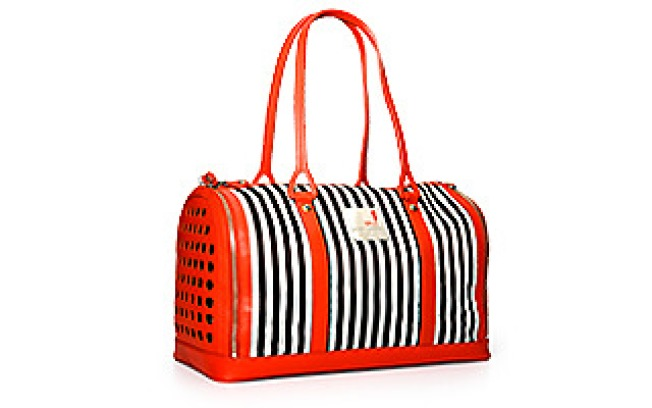 Posh Puppy: Bendel Stripe Tote