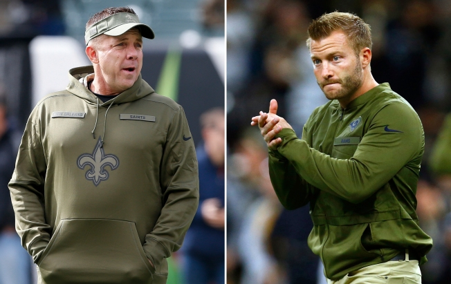 Rams-Saints Clash Features Two Innovative Coaches With Striking Similarities