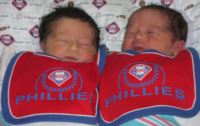 Phabulous Twins Cole and Chase Born in Philadelphia