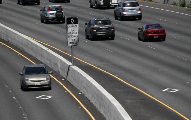 Carpool Stickers To Expire For 200 000 Solo Drivers In Ca